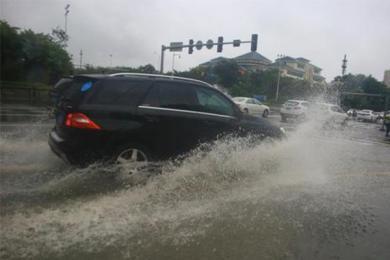 山神今登陆海南,大部分地区出现暴雨天气