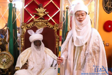 中国小伙当上酋长,非洲接受受封仪式