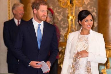 梅根王妃顺利诞下一名男婴,哈里王子难抑激动与喜悦之情