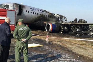 客机事故致41人死亡,俄航承诺赔付遇难者家属50万元