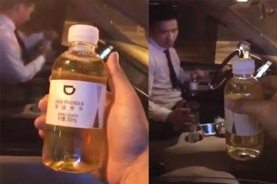 滴滴回应乘客喝到尿,司机想要私了被乘客举报