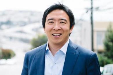 首位华裔参加美国总统竞选,当选后每人每月发1000美金