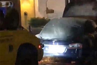 特斯拉又现自燃,私人车库起火再度陷入舆论风波