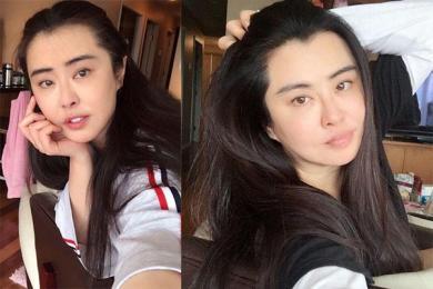 王祖贤正面照曝光,当老妈的年纪看起来依然像大姐姐