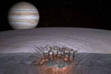 研究发现木卫二或在向太空喷水