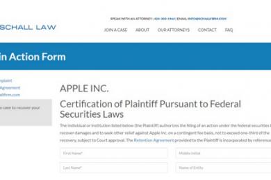 隐瞒iPhone需求下滑,苹果公司在美国遭集体诉讼