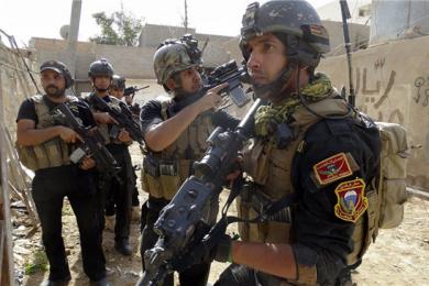 """伊拉克反恐部队击毙""""伊斯兰国""""一重要头目"""