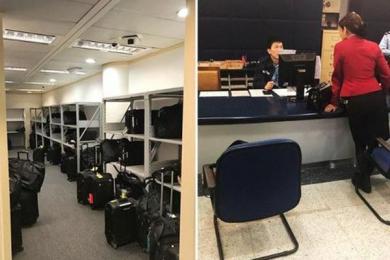 国泰航空丢空姐行李,被按垃圾处理员工利益受威胁