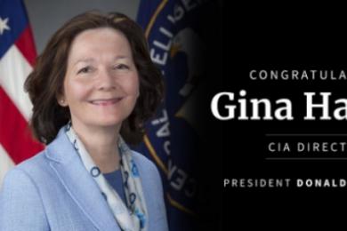 美国中情局女局长,特朗普发文表示祝贺