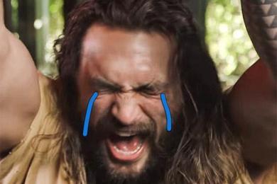 海王经常在片场哭,戏精本人不分场合