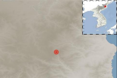 朝鲜2.8级地震,系属自然现象并未造成伤亡