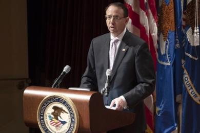 美国司法部副部长罗森斯坦将离职,曾监督通俄门调查