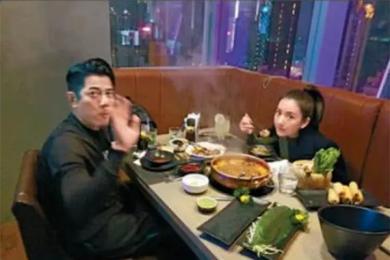 郭富城吃火锅自罚,宠妻有道的他也不忘捡起健身态度