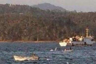 印度发生船只倾覆,造成23人失踪下落不明