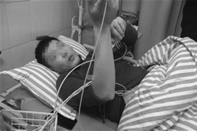 黑诊所输液险丧命,期间曾出现呼吸困难
