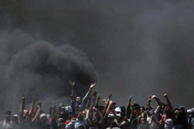 巴勒斯坦罢工,悼念巴以冲突中被打死的民众