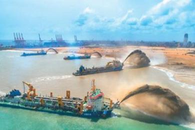中国无偿援建鸡蛋路,继续带动一带一路发展