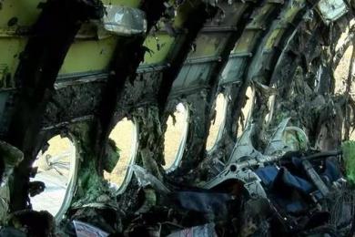 俄罗斯起火客机内部画面曝光,黑匣子已找到将有助于进一步调查