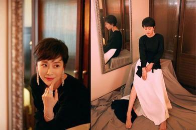 海清回归职场风,但她的其他风格如女神贵妇清新风都怎么说?