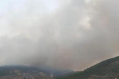 丽江玉龙发生山火,经过连日扑救火势终于得到控制