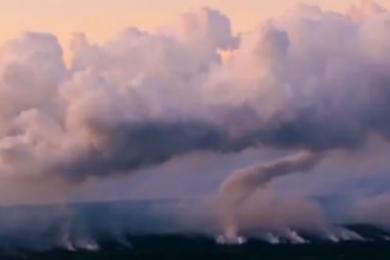 夏威夷火山持续,对当地旅游业产生重大影响