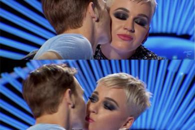 水果姐夺19岁男孩初吻,帮选手完成初恋形式