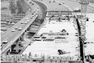 浦阳江大桥全线合龙,国庆节前有望八车道双向贯通