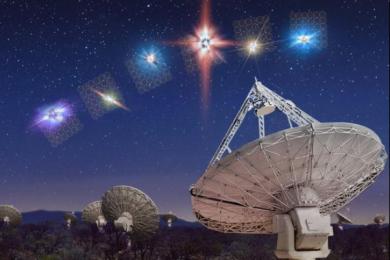 澳大利亚科学家捕获超强无线电爆