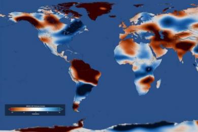 人类活动与水资源的的变化有关