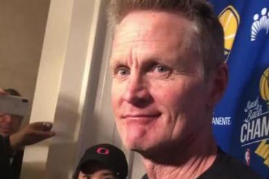 科尔称将挖掘替补杜兰特的人员 杜兰特有希望在西部决赛复出