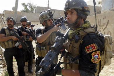 """伊拉克反恐部队又立功,击毙12名""""伊斯兰国""""武装分子"""