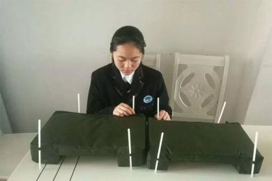 女孩发明快速浮桥,经过半年努力终于收获成果