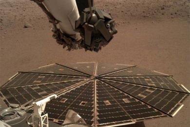 首次听到火星风声,由洞察号完成