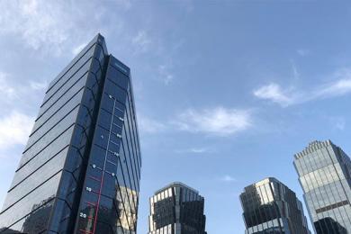 53米温度计现西宁,另类设计吸引市民聚焦目光