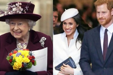 英国女王批准婚事,为小孙子哈里送去新婚祝福