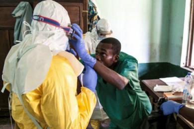 刚果金埃博拉疫情,城市开始出现首例难控制
