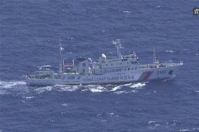 中国急缺一种船,海警船钓鱼岛附近巡航被日方无理警告