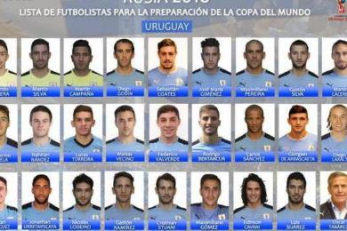 乌拉圭世界杯名单,射手榜第2位名列其中