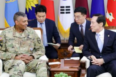 美韩军方联合发声,将按原计划进行军演