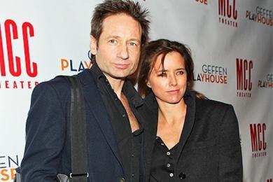 大卫·杜楚尼,这个《X档案》系列男星结束了自己十七年的婚姻生活