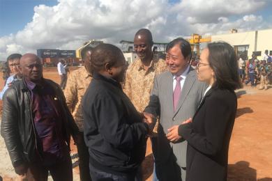 华西村莫桑比克开矿,开业仪式上总统亲自剪彩表示欢迎