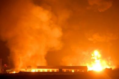 俄罗斯彼尔姆地区一化工厂发生爆炸,已造成3人死亡