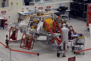 美国火星探测器火星2020号已经进入最后组装阶段
