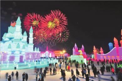 35届哈尔滨冰雪节拉开帷幕,活动多达百余项