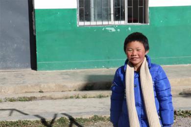 冰花男孩的一年,学校有了新宿舍也可以提供热水