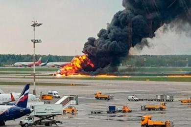 俄罗斯客机起火紧急迫降致41人遇难,航班上无中国公民