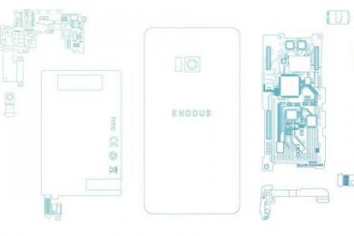 HTC区块链智能机,支持加密货币和去中心化应用