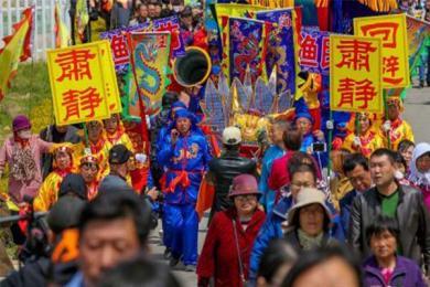 十万渔民庆谷雨,古老祭祀活动再现送出视觉盛宴