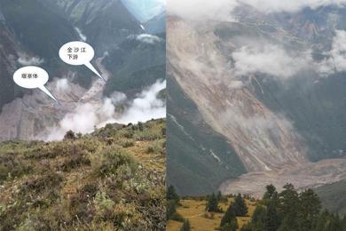 堰塞湖致万人转移,山体滑坡事件性质严重