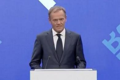 欧洲主席批特朗普,称其反复无常很难进行合作